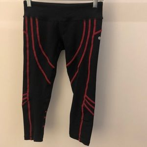 VimMia black with red legging, sz s, 64795